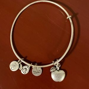 Alex and Ani bracelet Apple teacher gift